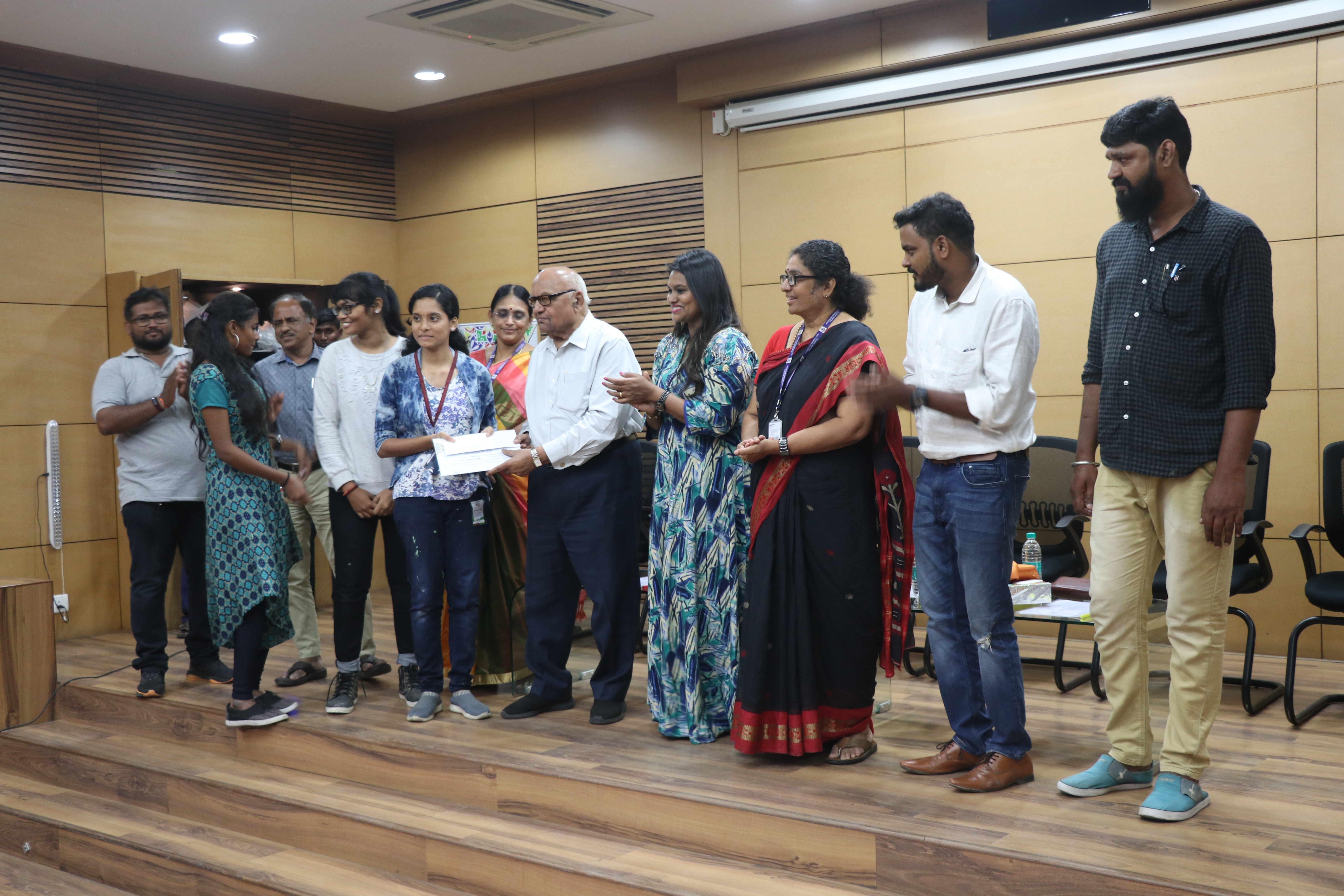 Mural Painting Competition – Viscom students won prize